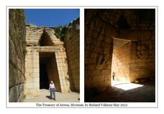 #Mycenae #Mycenaean #treasury #Atreus Click to ENLARGE