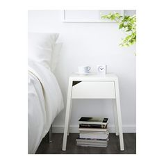 SELJE Table de chevet - blanc - IKEA
