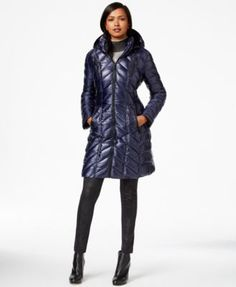 Calvin Klein Packable A-Line Puffer Coat