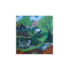 Allotment Cat Giclee Print Wall Art (€37) ❤ liked on Polyvore featuring home, home decor, wall art, giclee wall art, cat poster, kitty poster, cat home decor and giclee poster