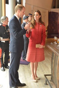 Will and Kate enjoy a dram during visit to Famous Grouse Experience at Glenturret Distillery: