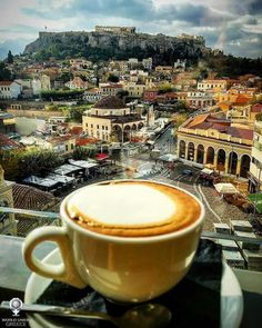 Coffee in Greece (Athens)