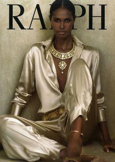 Ubah Hassan, black supermodels