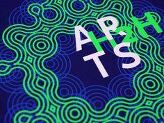 Studio Des Signes / Labex Arts-H2H #identity #font #graphicdesign #dessignes #typography
