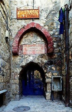Mamertine Prison where the Apostle Peter was jailed in Jerusalem