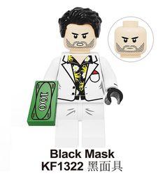 Black Mask (Birds of Prey) Lego Dc, Black Mask, Popular Culture, Harley Quinn, Pop Culture, Mickey Mouse, Birds, Track, Star Wars