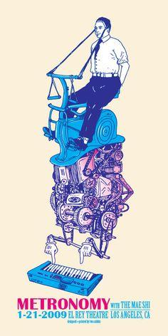 Metronomy poster '00