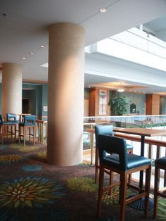 Subtle, shimmery plaster columns for a recent Garay Artisans commission for a Hyatt hotel.  The blog post gives an overview of running a hospitality project.