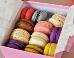 When are macarons not a good idea?? An added benefit; most are gluten-free!