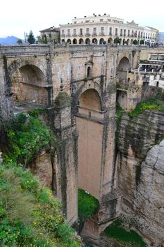 Rhonda, Spain- One of Greg and I's honeymoon destinations. It is gorgeous! :)