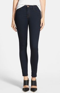 J BRAND '811' Ankle Skinny Jeans (Ink). #jbrand #cloth #