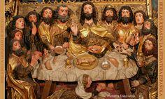 literatura española ,santa cena