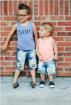 Riptide Shorts distressed denim unisex baby toddler by DudleyDenim, $21.00