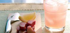Rhubarb Lemonade Recipe |Beverage | alive