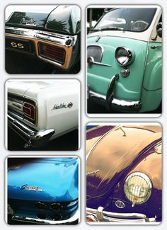 A whole bunch of #ClassicCars QuirkyRides.com
