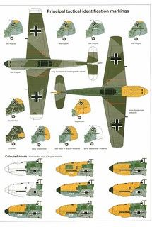 (For Aero Modelers) Messerschmitt Bf 109 E Camouflage and Markings 1940 Ww2 Fighter Planes, Ww2 Planes, Fighter Aircraft, Fighter Jets, Luftwaffe, Ww2 Aircraft, Military Aircraft, Camouflage, Focke Wulf