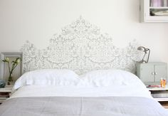 T te de lit on pinterest deco headboards and bedhead - Comment faire une tete de lit ...