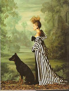 Vogue 1984 --- Grace Coddington : Thirty Years of Fashion At Vogue. Fashion Shoot, Fashion Art, Editorial Fashion, Womens Fashion, High Fashion, Modern Fashion, 90s Fashion, Fashion Brands, Style Fashion