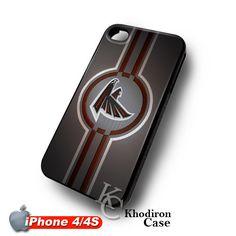 iOffer: NFL Atalanta Falcons Logo iPhone 4 4S Case for sale on Wanelo