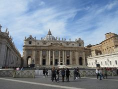 Postcards from Contiki Winter Wanderer - St. Peter's Basilica, Vatican City