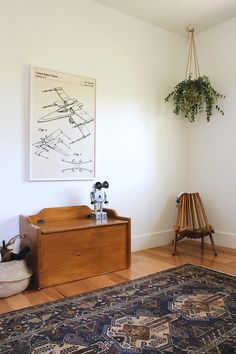 A Boho Little Boy's Room - Hither