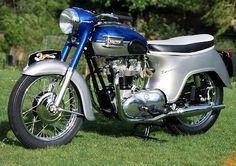 1961 #Triumph T110 Bathtub looked Soooo #Cool when I was a kid :-) ........ fred6ty7.com ........