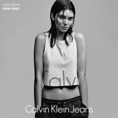 Just me in #mycalvins. Proud to be the face of the new @calvinklein #mycalvins Denim Series!