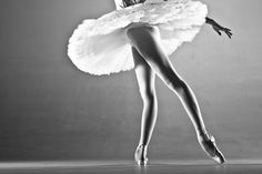 A Satellite grey toned dancer marvels in this photograph by Jim De Block