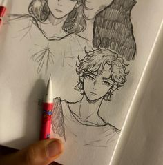Cute Art Styles, Cartoon Art Styles, Art Drawings Sketches Simple, Cool Drawings, Anime Sketch, Art Reference Poses, Art Sketchbook, Artist Art, Character Art