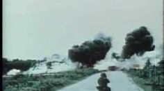 d day landing footage