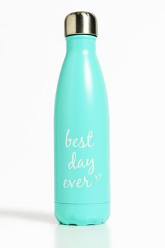 su0027well best day ever 17 oz water bottle south moon under - Swell Waterbottle