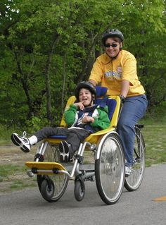 Used Strollers, Baby Strollers, Wheelchair Accessories, Wheelchair Ramp, Clever Gadgets, Cerebral Palsy, How To Make Clothes, Special Needs, Tandem