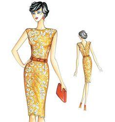 F3158, Marfy  Dress