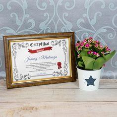 Certyfikat Miłości - MyGiftDna