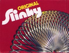 A kid could do so many things with that wired up contraption known as the SLINKY TOY. All that wire could really stretch out in the hands of a 6 year old. It was one of my favorite toys & I get goosebumps when I think about those great toys I used to play with back in the 1950's!    Today you can get a SLINKY TOY in lots of different colors & made in plastic too! More safety conscious now so some of the toys are changing a little. (Jack, 2008)