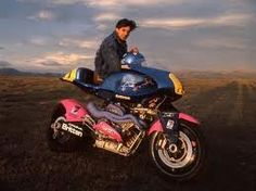 John Britten (1950-1995) - designed a world-record-setting motorcycle with innovative features still ahead of contemporary design