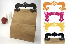 Clutch Clip, turn brown bags into adorable clutches!