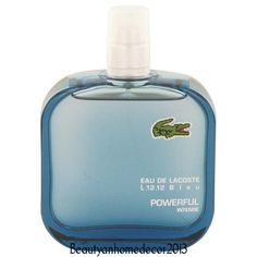Lacoste Eau De Lacoste L.12.12 Bleu Cologne 3.3 oz (Tester) Powerful Intense NEW #Lacoste