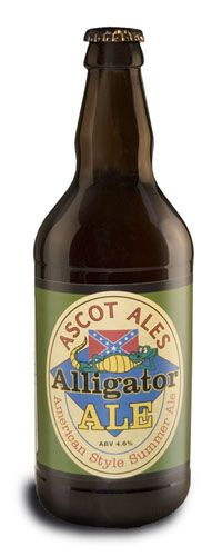 Based in Camberley Surrey, Ascot Brewery may be small but they offer up some very exciting beers.   Ascot Ales have won a whole host of awards, with Alligator scooping a Gold at the Woking Beer Festival in 2008.