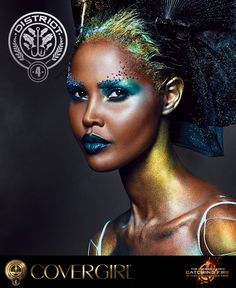 Get the tips and tricks to create COVERGIRL's District 4 nail look, inspired by The Hunger Games: Catching Fire.