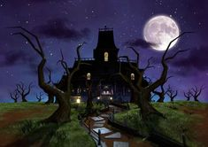 A really cool shot of the Gloomy Manor from the official artwork set for #LuigisMansion 2 Dark Moon on Nintendo #3DS. #Luigi http://www.superluigibros.com/luigis-mansion-2