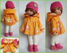 paola reina, одежда для кукол, выкройка курточки