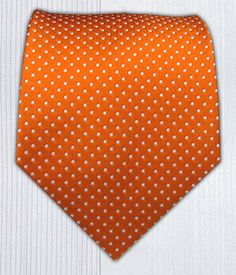 """Pindot"" Tangerine $15. Nice simple wedding attire accent."