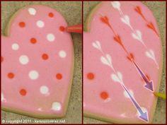 Valentine Hearts | Karen's Cookie Blog