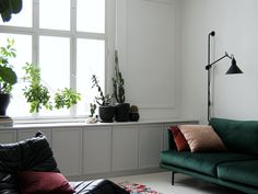 Berlin Apartment, Sofa, Couch, Ikea Hack, Sideboard, Closets, Inspiration, Cabinet, Living Room