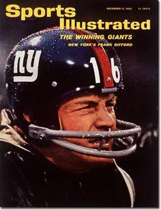 1962 Sports Illustrated magazine Football,Frank Gifford,New York Giants Fr New York Giants Football, Best Football Team, Football Photos, Sports Photos, School Football, Football Fans, Nfl Photos, Football Stuff, Football Players