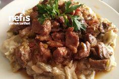 Recipe for a Fabulous Flavor Doner Kebab-Muhteşem Bir Lezzet Hünkar Beğendi Tarifi Recipe for a Fabulous Flavor Doner Kebab - Kebab Meat, Kebab Recipes, Wie Macht Man, Cooking Recipes, Healthy Recipes, Food Articles, Frozen Meals, Best Dinner Recipes, Turkish Recipes