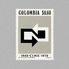 Colombia - 20th Anniv. of Inter-Governmental Committee on European Migration Stamp. Design by C. Rojas, 1972