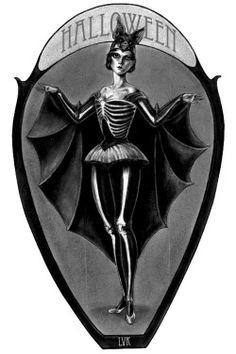 bat vintage