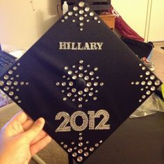 Bling graduation cap